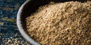 moler semillas de lino